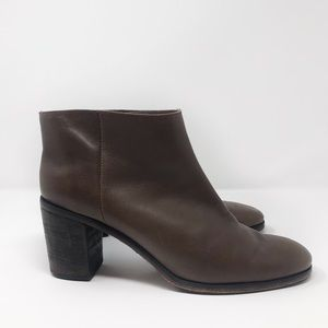 Rachel Comey Women's Brown Mars Ankle Booties